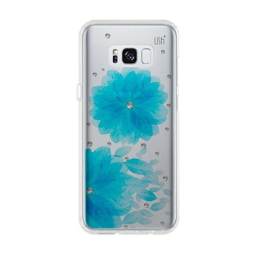 capa-ush-galaxy-s8-flor-azul