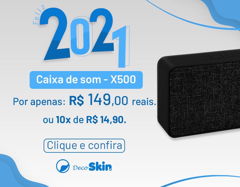 05 Caixa de Som X500 | Mobile 770x600