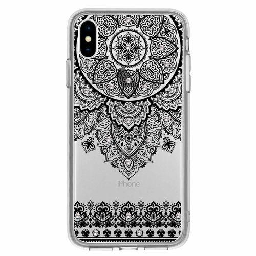 Capa-iPhone-X-XS-Arabesco-Preto-com-Brilho