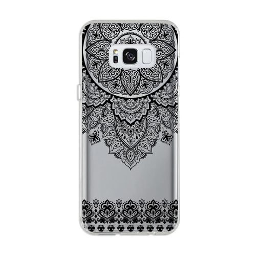 Capa Galaxy S8 Plus Arabesco Preto
