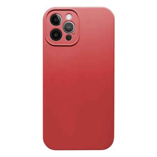 Capa-iPhone-12-Pro-Max-Silicone-Vermelho