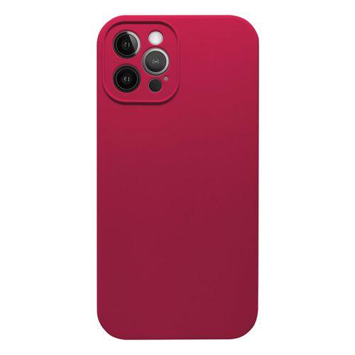 Capa-iPhone-12-Pro-Max-Silicone-Vermelho-Cardeal