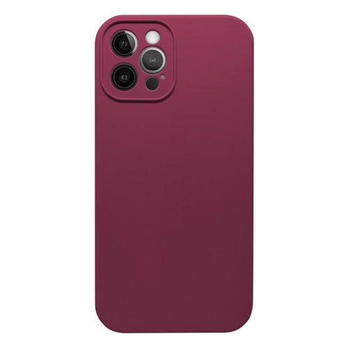 Capa-iPhone-12-Pro-Max-Silicone-Vinho