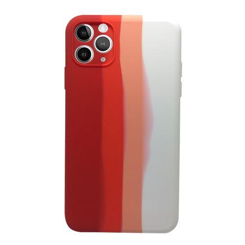 Capa-iPhone-11-Pro-Max-Silicone-Degrade-Vermelho-e-Branco