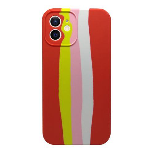 Capa-iPhone-12-Silicone-Degrade-Vermelho-e-Amarelo