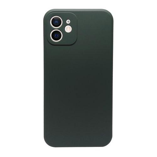 Capa-iPhone-12-Silicone-Verde-Musgo
