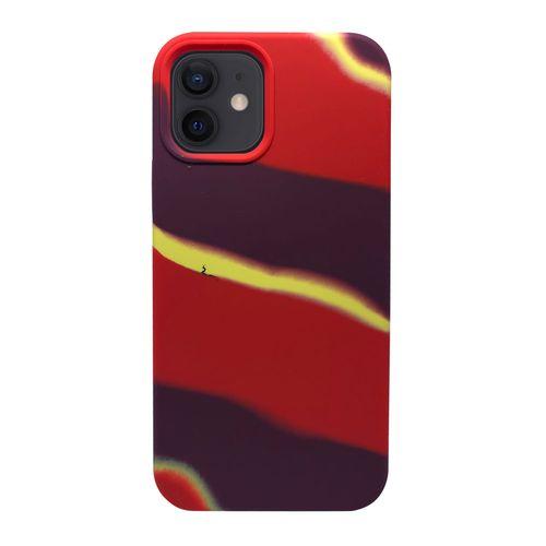 Capa-iPhone-12-Silicone-Camuflado-Vermelho-e-Roxo