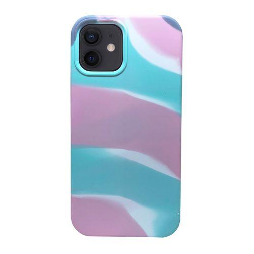 Capa-iPhone-12-Silicone-Camuflado-Rosa-e-Azul