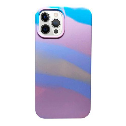 Capa-iPhone-12-Pro-Max-Silicone-Camuflado-Rosa-e-Azul