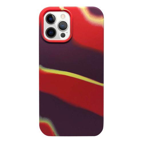 Capa-iPhone-12-Pro-Max-Silicone-Camuflado-Vermelho-e-Roxo