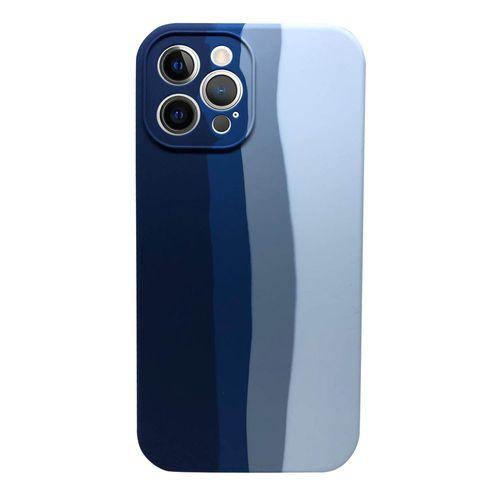 Capa-iPhone-12-Pro-Max-Silicone-Camuflado-Azul-e-Branco