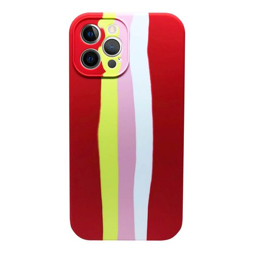 Capa-iPhone-12-Pro-Max-Silicone-Degrade-Vermelho-e-Amarelo
