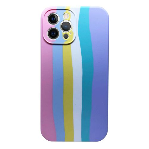 Capa-iPhone-12-Pro-Max-Silicone-Degrade-Rosa-e-Roxo