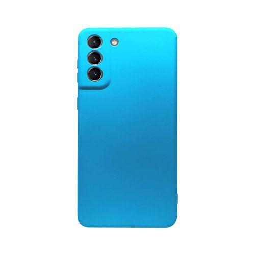 Capa-Galaxy-S21-Silicone-Azul