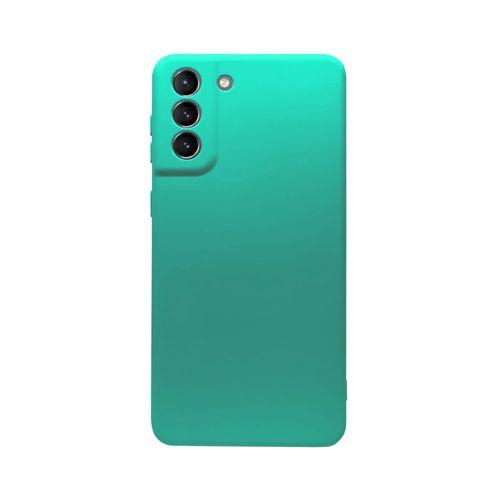 Capa-Galaxy-S21-Silicone-Verde-Jade
