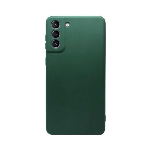 Capa-Galaxy-S21-Silicone-Verde-Musgo