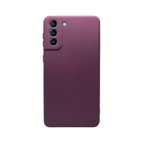Capa-Galaxy-S21-Silicone-Vinho