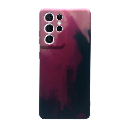 Capa-Galaxy-S21-Ultra-Silicone-Camuflagem-Rosa-e-Preto