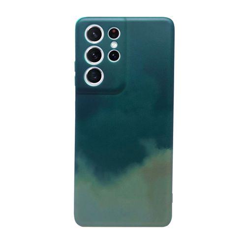 Capa-Galaxy-S21-Ultra-Silicone-Camuflado-Verde